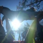 Yoga al vent