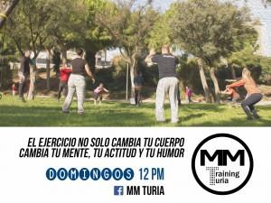 MMTuria Training - Anuncio - Tu Rio Turia