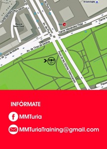 MMTuria Training - Mapa - Tu Rio Turia