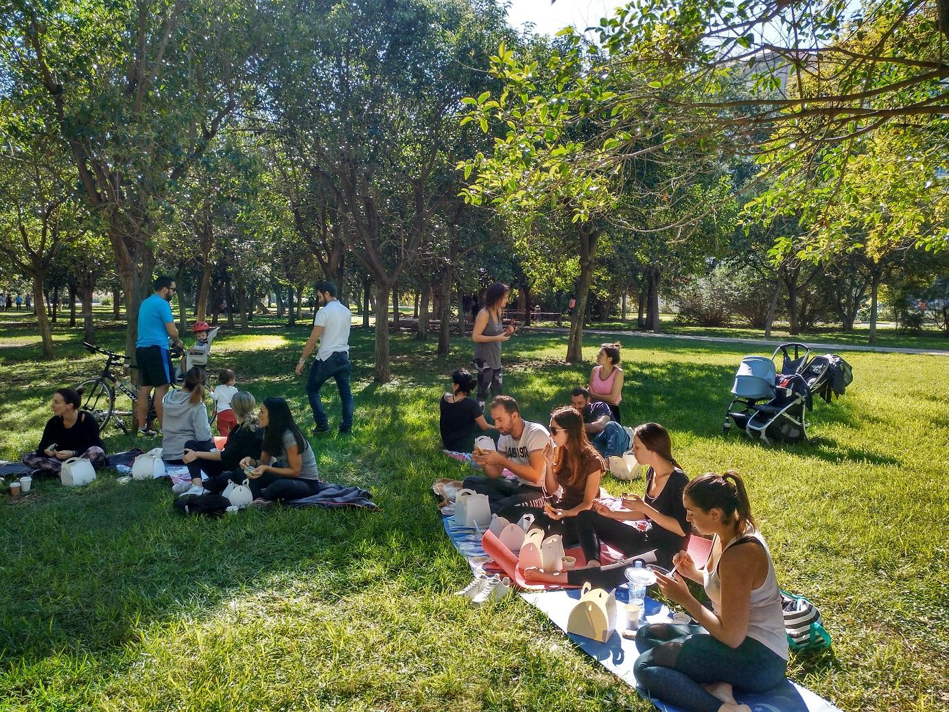 Yoga & picnic